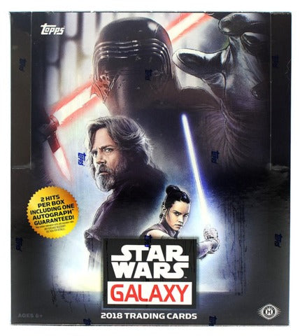 2018 Topps Star Wars Galaxy Hobby Box | Eastridge Sports Cards