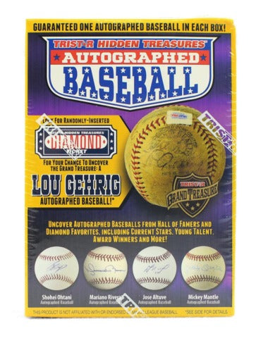 2018 Tristar Hidden Treasures Series 10 Autographed Baseball | Eastridge Sports Cards