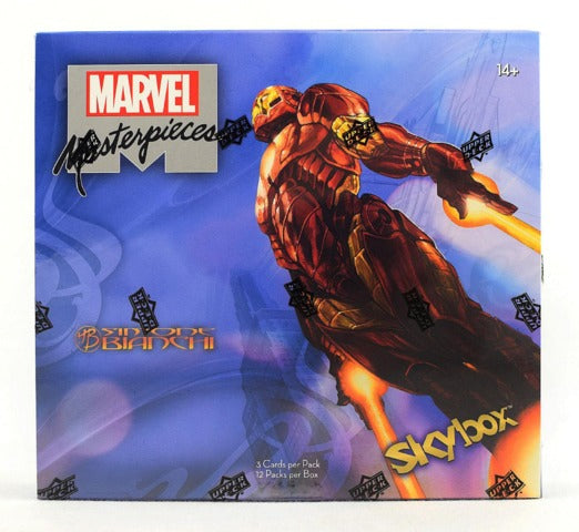 2018 Upper Deck Marvel Masterpieces (featuring Simone Bianchi) Hobby Box | Eastridge Sports Cards