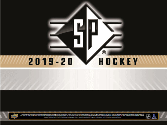 2019-20 Upper Deck SP Hockey Blaster Box | Eastridge Sports Cards