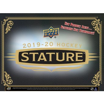 2019-20 Upper Deck Stature Hockey Hobby Box | Eastridge Sports Cards