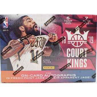 2018-19 Panini Court Kings (AU) Basketball Blaster Box | Eastridge Sports Cards