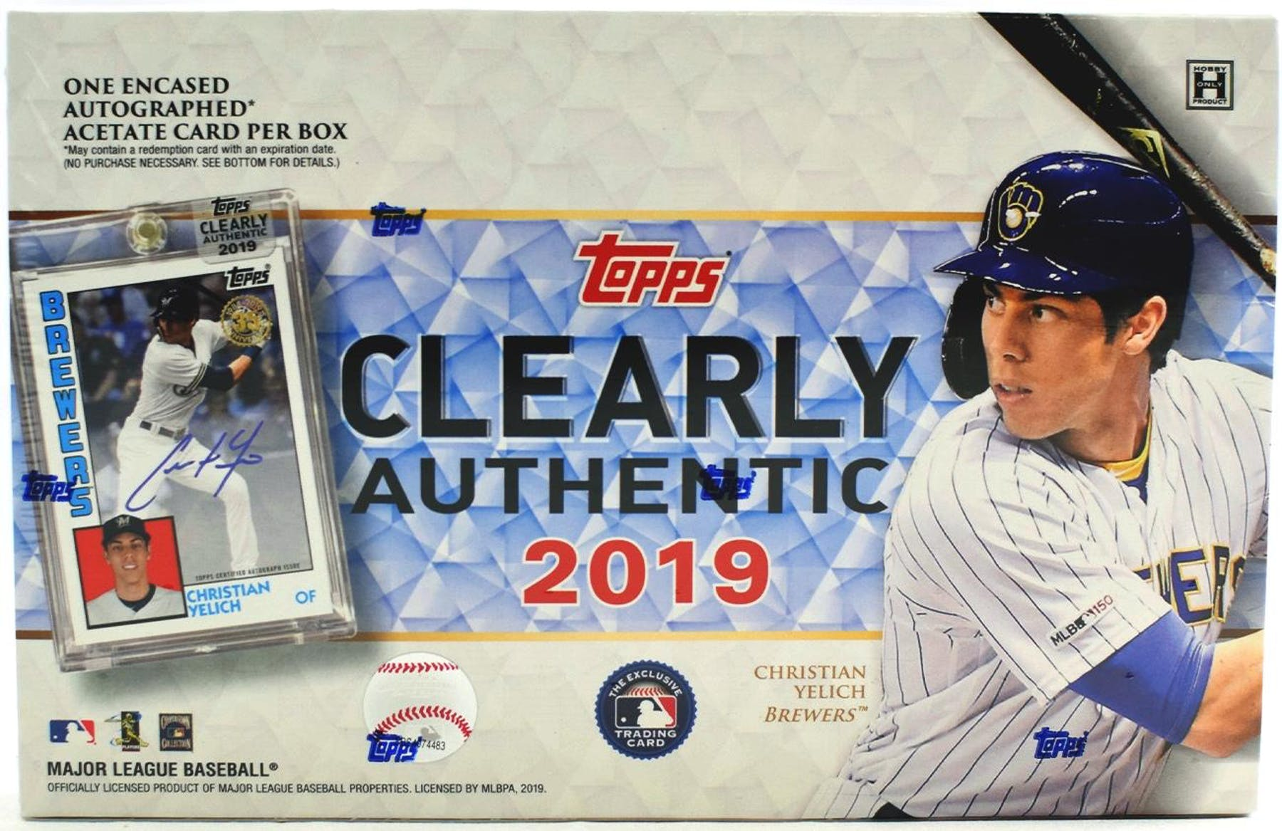 2019 Topps Clearly Authentic Baseball Hobby Box | Eastridge Sports Cards