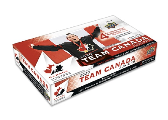 2020 Upper Deck Team Canada World Juniors Hockey Hobby Box | Eastridge Sports Cards