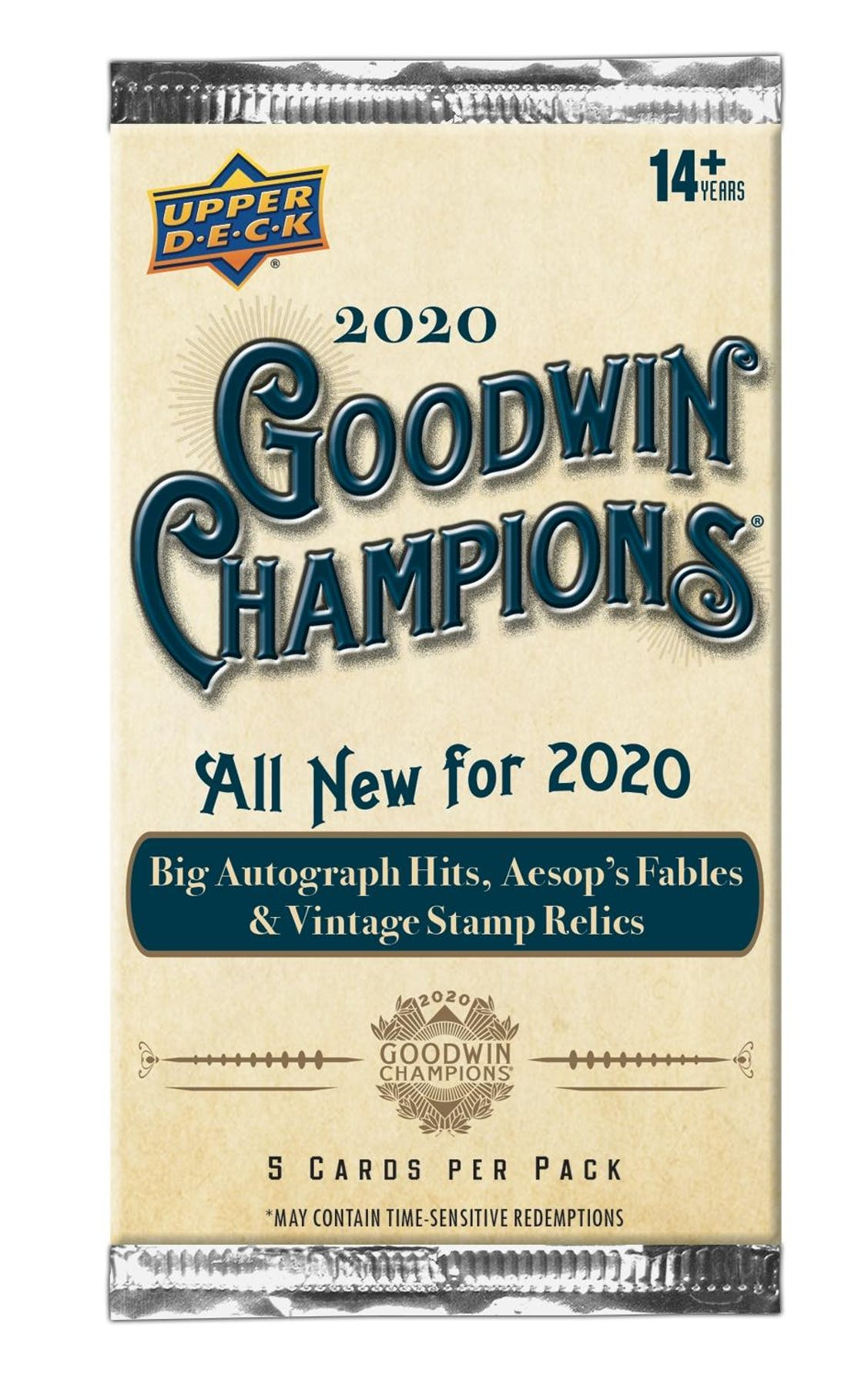 2020 Upper Deck Goodwin Champions Hobby Pack | Eastridge Sports Cards