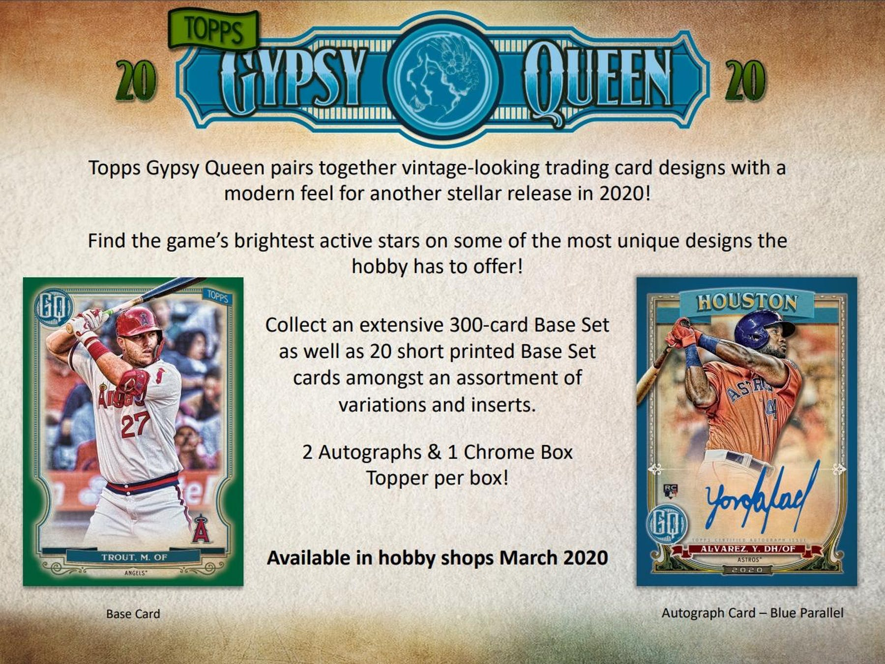 2020 Topps Gypsy Queen Baseball Hobby Box | Eastridge Sports Cards