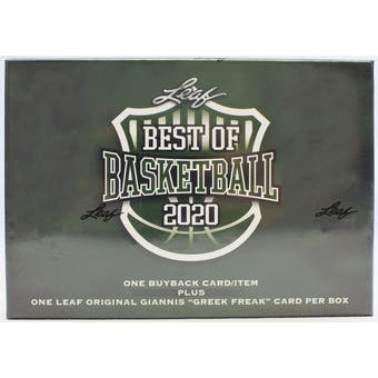 2019-20 Leaf Best of Basketball Hobby Box | Eastridge Sports Cards