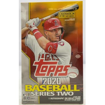 2020 Topps Baseball Series 2 Hobby Box | Eastridge Sports Cards