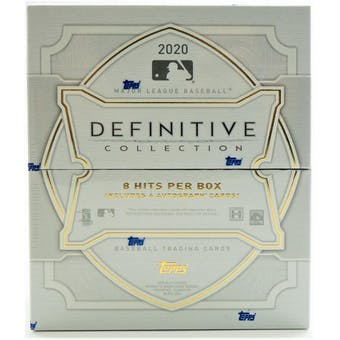 2020 Topps Definitive Baseball Hobby Box | Eastridge Sports Cards