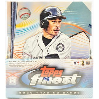 2020 Topps Finest Baseball Hobby Box | Eastridge Sports Cards