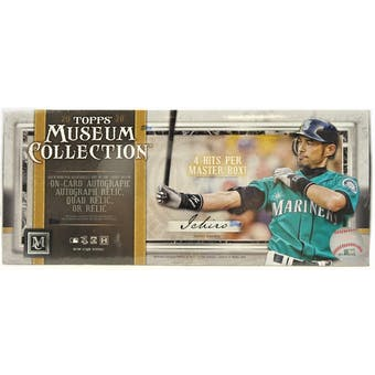 2020 Topps Museum Collection Baseball Hobby Box | Eastridge Sports Cards