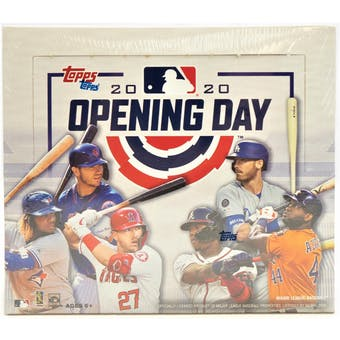 2020 Topps Opening Day Baseball Hobby Box | Eastridge Sports Cards