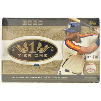 2020 Topps Tier One Baseball Hobby Box | Eastridge Sports Cards