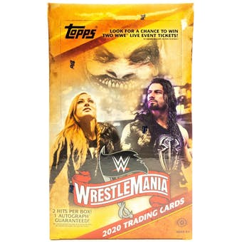 2020 Topps WWE Road to Wrestlemania | Eastridge Sports Cards