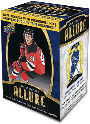 2019-20 Upper Deck Allure Hockey Blaster Box | Eastridge Sports Cards