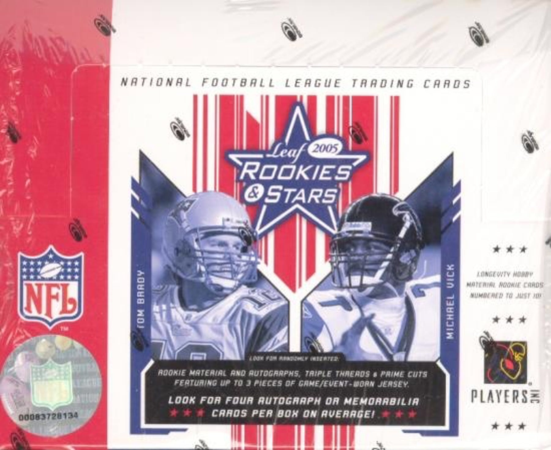 2005 Leaf Rookies and Stars Football Hobby Box | Eastridge Sports Cards