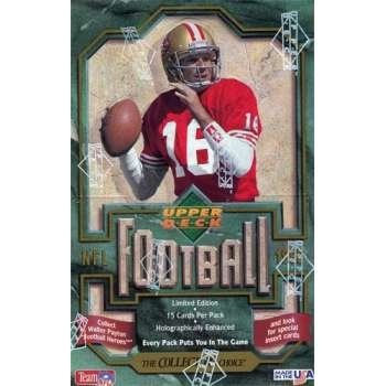 1992 Upper Deck Series 1 Football Hobby Box | Eastridge Sports Cards