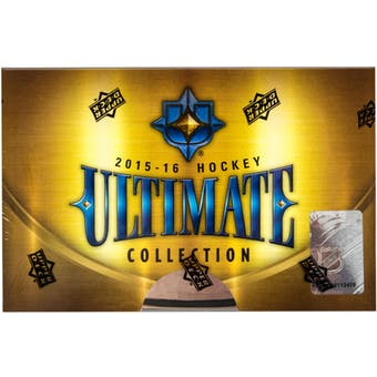 2015-16 Upper Deck Ultimate Hockey Hobby Box | Eastridge Sports Cards