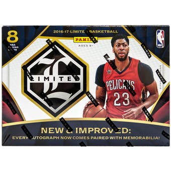 2016-17 Panini Limited Basketball Hobby Box | Eastridge Sports Cards