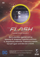 2017 The Flash Season 2 Rainbow Foil #49 - Just Say No to Speed Enhancers | Eastridge Sports Cards