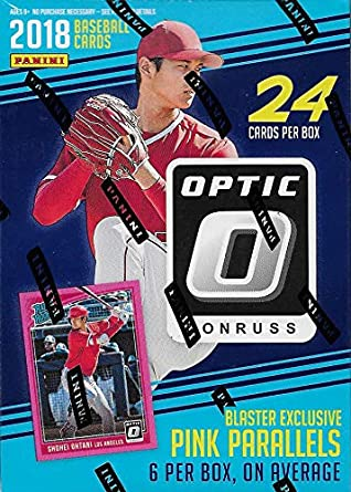 2018 Panini Donruss Optic Baseball Blaster | Eastridge Sports Cards