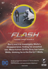2017 The Flash Season 2 Rainbow Foil #57 - Where is Wells? | Eastridge Sports Cards