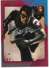 2015 Fleer Retro Marvel Autographs #58 Steve Epting - Winter Soldier | Eastridge Sports Cards