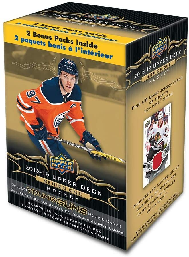 2018-19 Upper Deck Series 1 Hockey Blaster Box | Eastridge Sports Cards