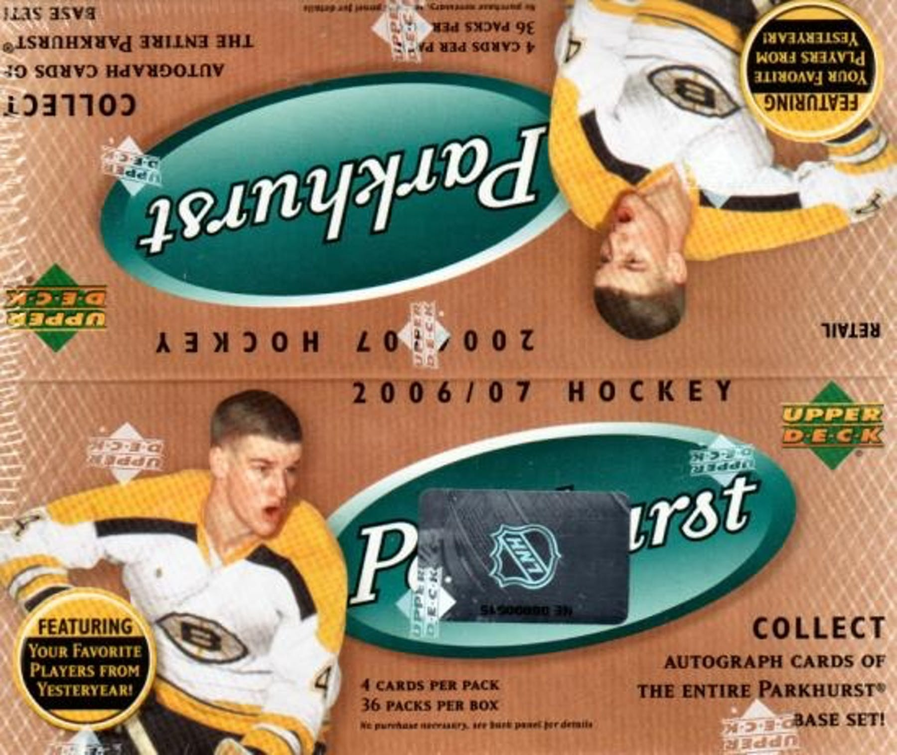 2006-07 Parkhurst Hockey Retail Box | Eastridge Sports Cards