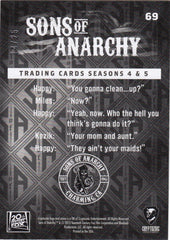 2015 Sons of Anarchy Seasons 4-5 Rainbow Foil #69 - Pancakes #/25 | Eastridge Sports Cards