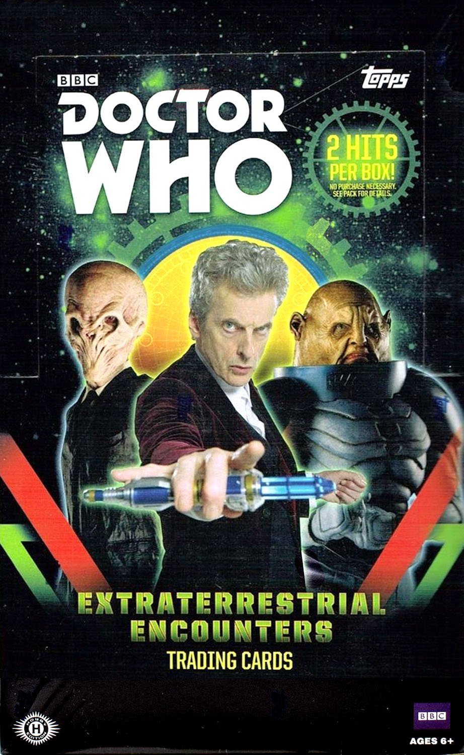2016 Topps Doctor Who Extraterrestial Encounters Hobby Box | Eastridge Sports Cards