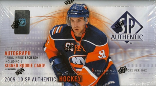 2009-10 Upper Deck SP Authentic Hockey Hobby Box | Eastridge Sports Cards