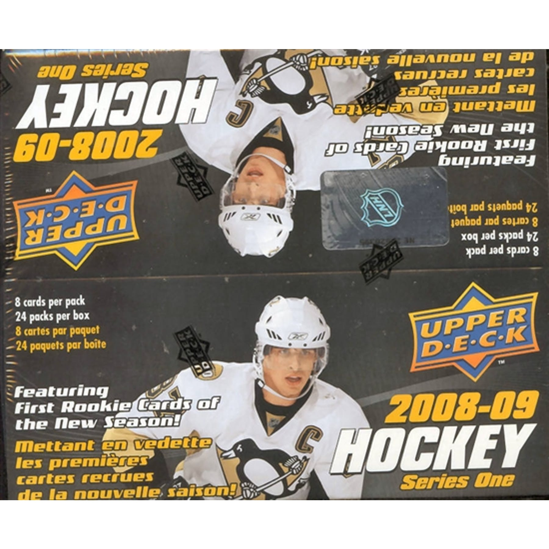 2008-09 Upper Deck Hockey Series 1 Retail Box | Eastridge Sports Cards