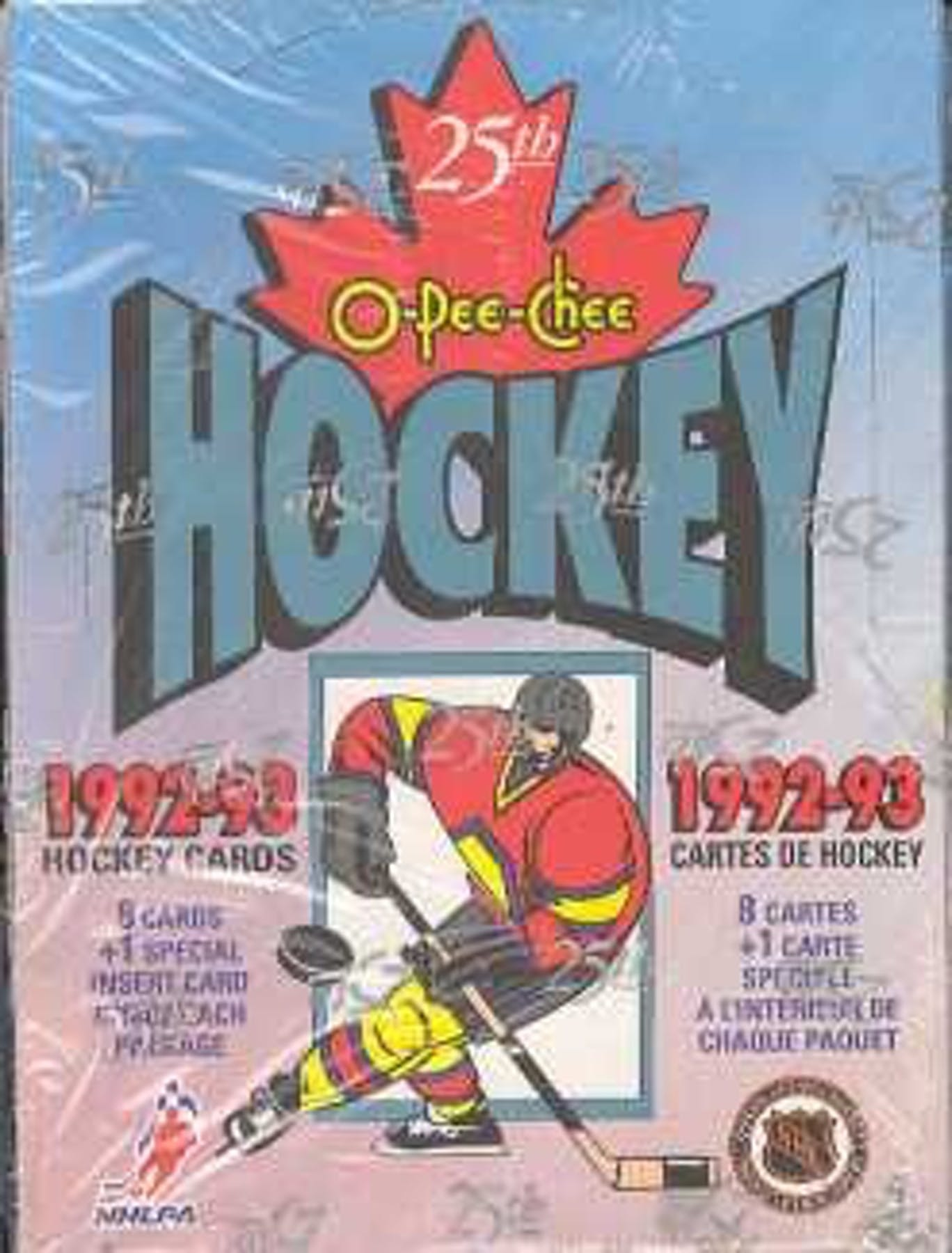 1992-93 O-Pee-Chee Hockey Hobby Box | Eastridge Sports Cards