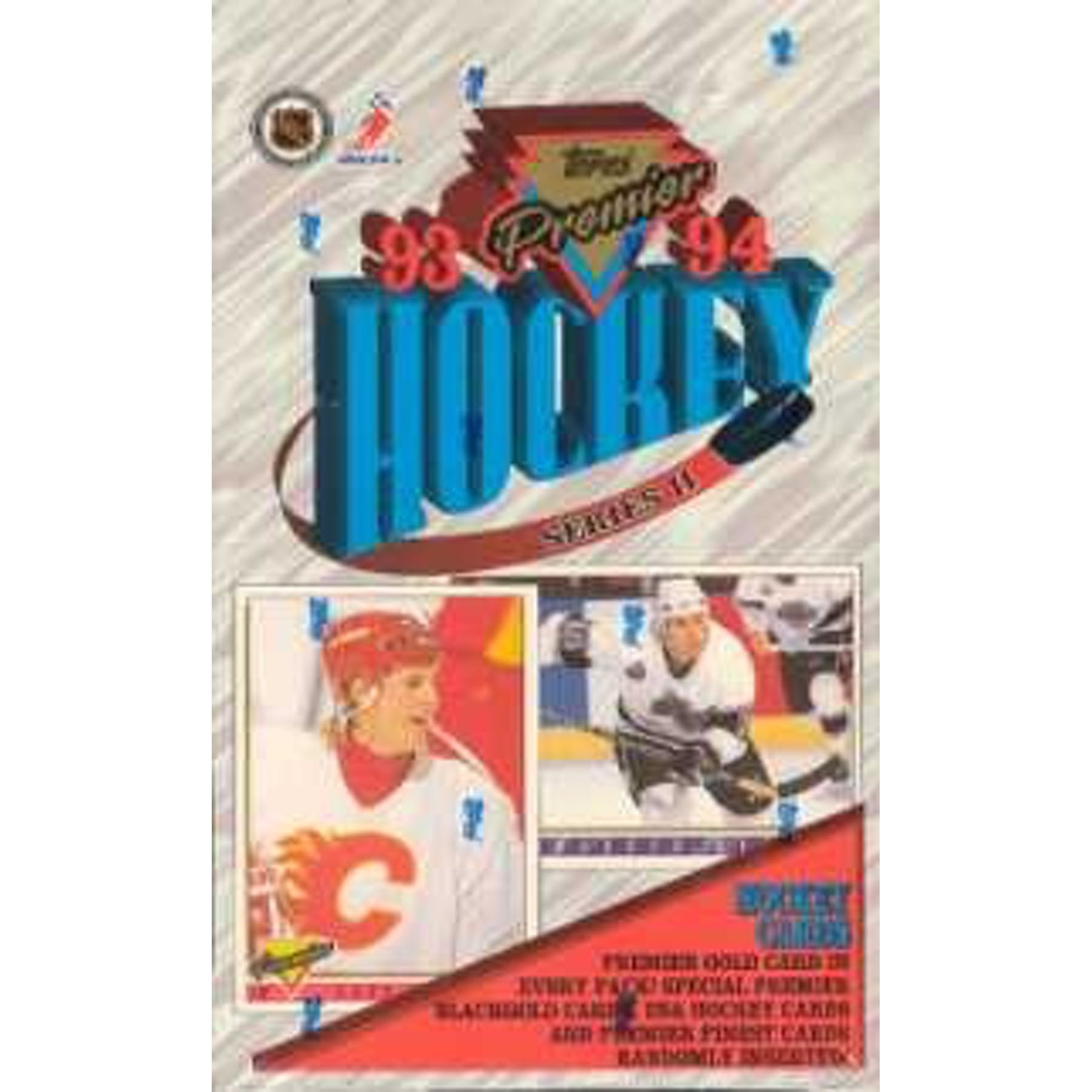 1993-94 Topps Premier Hockey Series 2 Hobby Box | Eastridge Sports Cards
