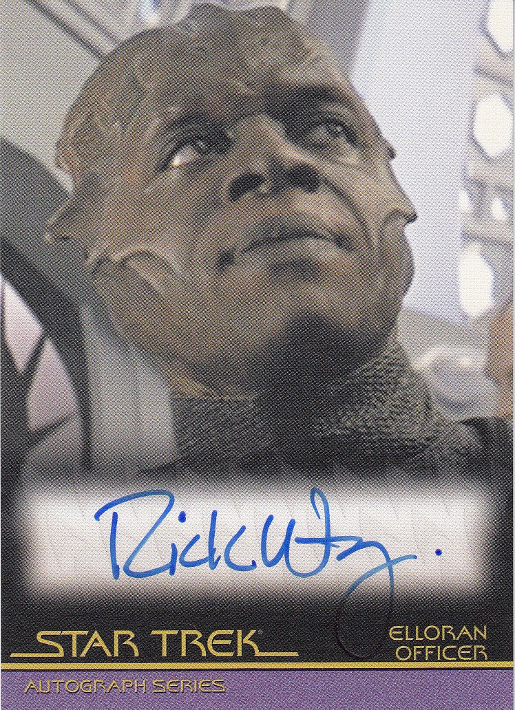 2010 Quotable Star Trek Movies Autographs #A110 - Rick Worthy as Ellorian Officer | Eastridge Sports Cards