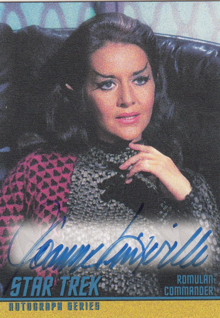 2008 Star Trek The Original Series 40th Anniversary Series 2 Autographs #A136 - Joanne Linville as Romulan Commander - CASE TOPPER | Eastridge Sports Cards