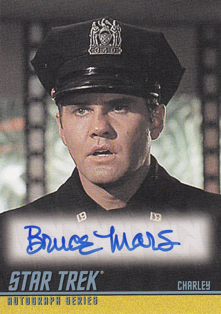 2008 Star Trek The Original Series 40th Anniversary Series 2 Autographs #A151 - Bruce Mars as Charley | Eastridge Sports Cards