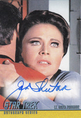 2008 Star Trek The Original Series 40th Anniversary Series 2 Autographs #A163 - Jan Shutan as Lt. Romaine | Eastridge Sports Cards