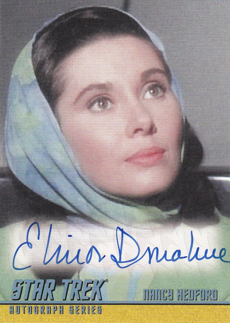 2009 Star Trek The Original Series 40th Anniversary Series 3 Autographs #A198 - Elinor Donahue as Nancy Hedford | Eastridge Sports Cards
