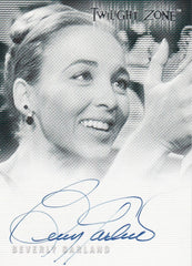2000 Twilight Zone The Next Dimension Autographs #A21 - Beverly Garland | Eastridge Sports Cards