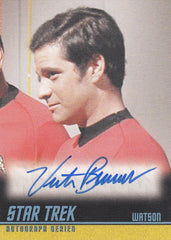 2013 Star Trek The Original Series Heroes and Villains Autographs #A236 - Victor Brandt as Watson | Eastridge Sports Cards