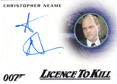 2015 James Bond Archives Autographs #A261 - Christopher Neame | Eastridge Sports Cards