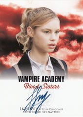 2014 Vampire Academy Blood Sisters Autographs #A2-LF1 - Lucy Fry | Eastridge Sports Cards