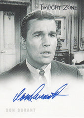 2005 Twilight Zone Science and Superstition Autographs #A70 - Don Durant | Eastridge Sports Cards