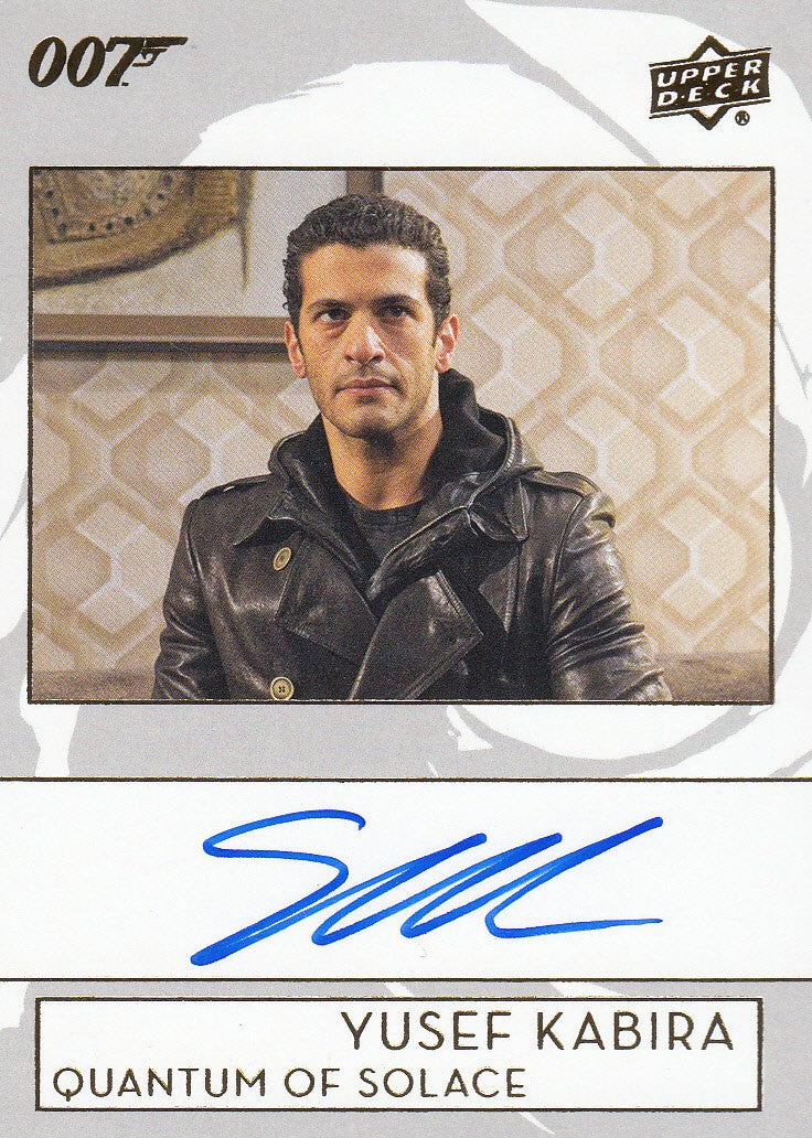 2019 James Bond Collection Autographs #A-SK - Simon Kassianides as Yusef Kabira | Eastridge Sports Cards