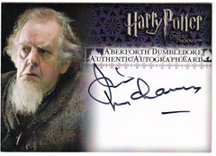 2007 Harry Potter and the Order of the Phoenix Autographs - Jim McManus as Aberforth Dumbledore | Eastridge Sports Cards