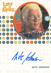 2005 Complete Lost in Space Autographs - Arte Johnson | Eastridge Sports Cards