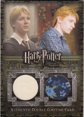 2007 Harry Potter and the Order of the Phoenix Update Costumes #C13 James Phelps/Oliver Phelps Shirt #/475 | Eastridge Sports Cards