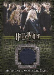2007 Harry Potter and the Order of the Phoenix Costumes #C14 Ravenclaw Robe #/520 | Eastridge Sports Cards